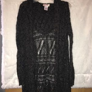 Charcoal Colored Cardigan